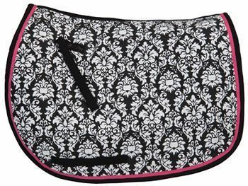 Equine Couture Damask English All Purpose Pad