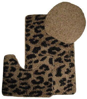 Cheetah Print Bathroom