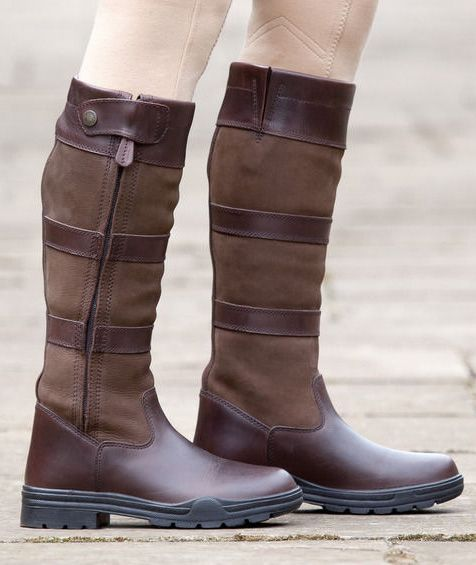 a6777915eacb Shires Broadway Waterproof Leather Tall Boot