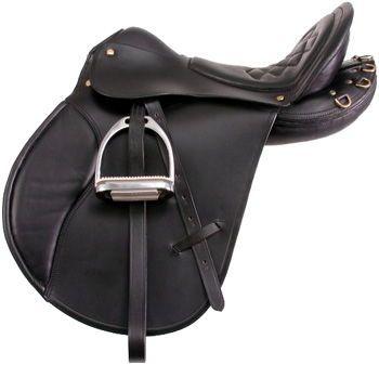 EquiRoyal Comfort Trail Saddle