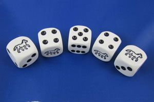 Horse Racing Dice Game Chicks Discount Saddlery