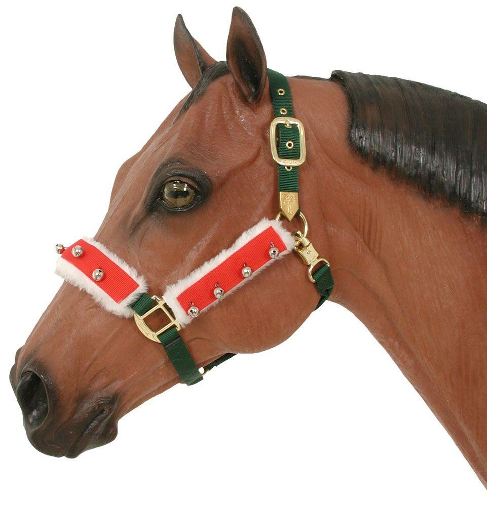 christmas fleece halter kit - Horse Christmas