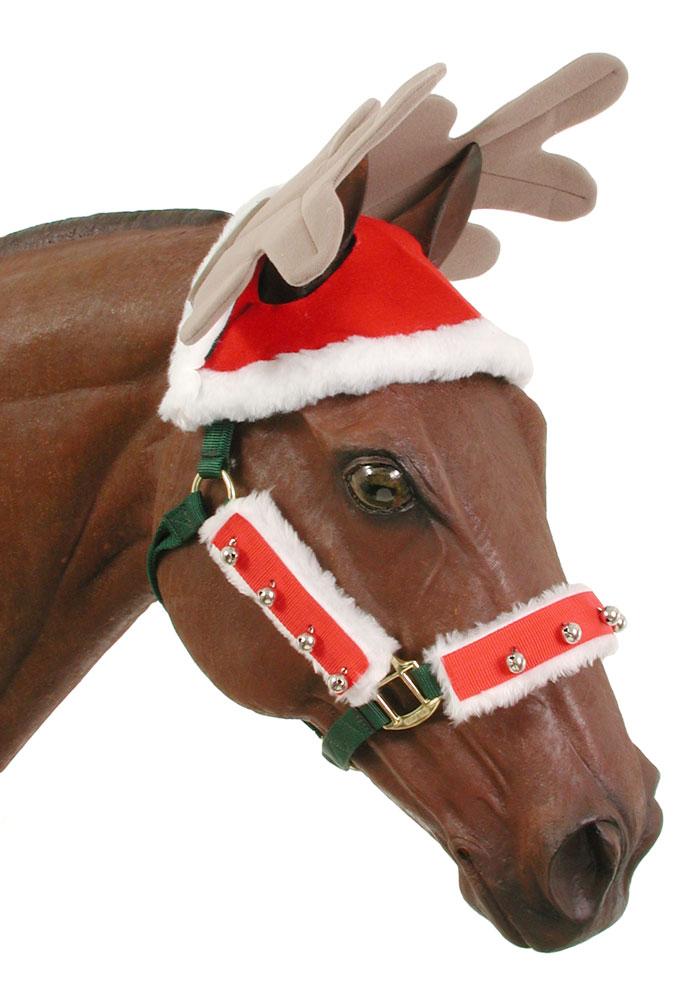 Reindeer Horse Cap