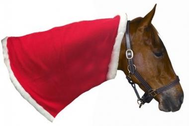 Christmas Horse Tack.Holiday Horse Neck Snuggler