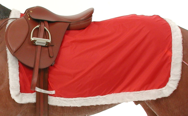 Christmas Holiday Quarter Horse Sheet