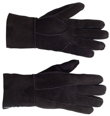 a22a963e7 Horze Originals 100% Sheepskin Suede Leather Ladies Gloves With Fleece  Lining.: Chicks Discount Saddlery